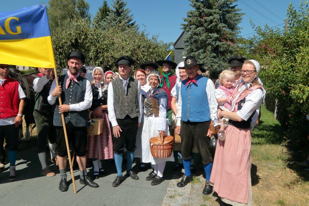 Oberlausitzer Trachten beim Eibauer Bierzug 2019