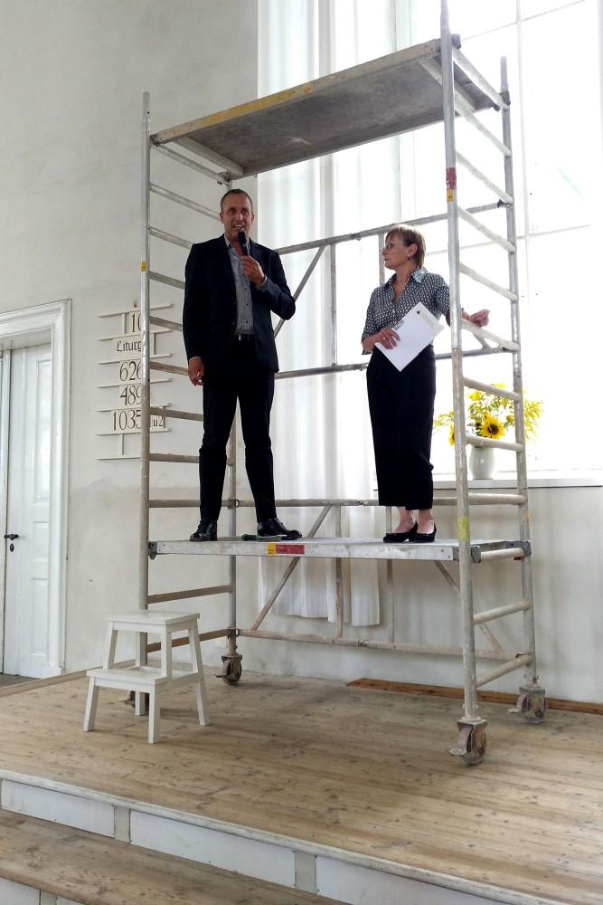 Baubeginn in Herrnhut