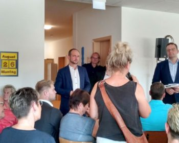 Gesundheitsminister Spahn im Dialog